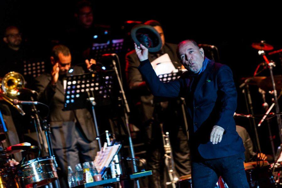Rubén Blades en Pirineos Sur 2018. Fotos, Jaime Oriz