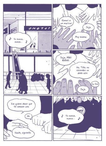 Tillie Walden comic