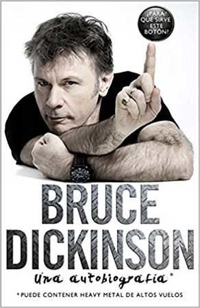 Bruce Dickinson libro