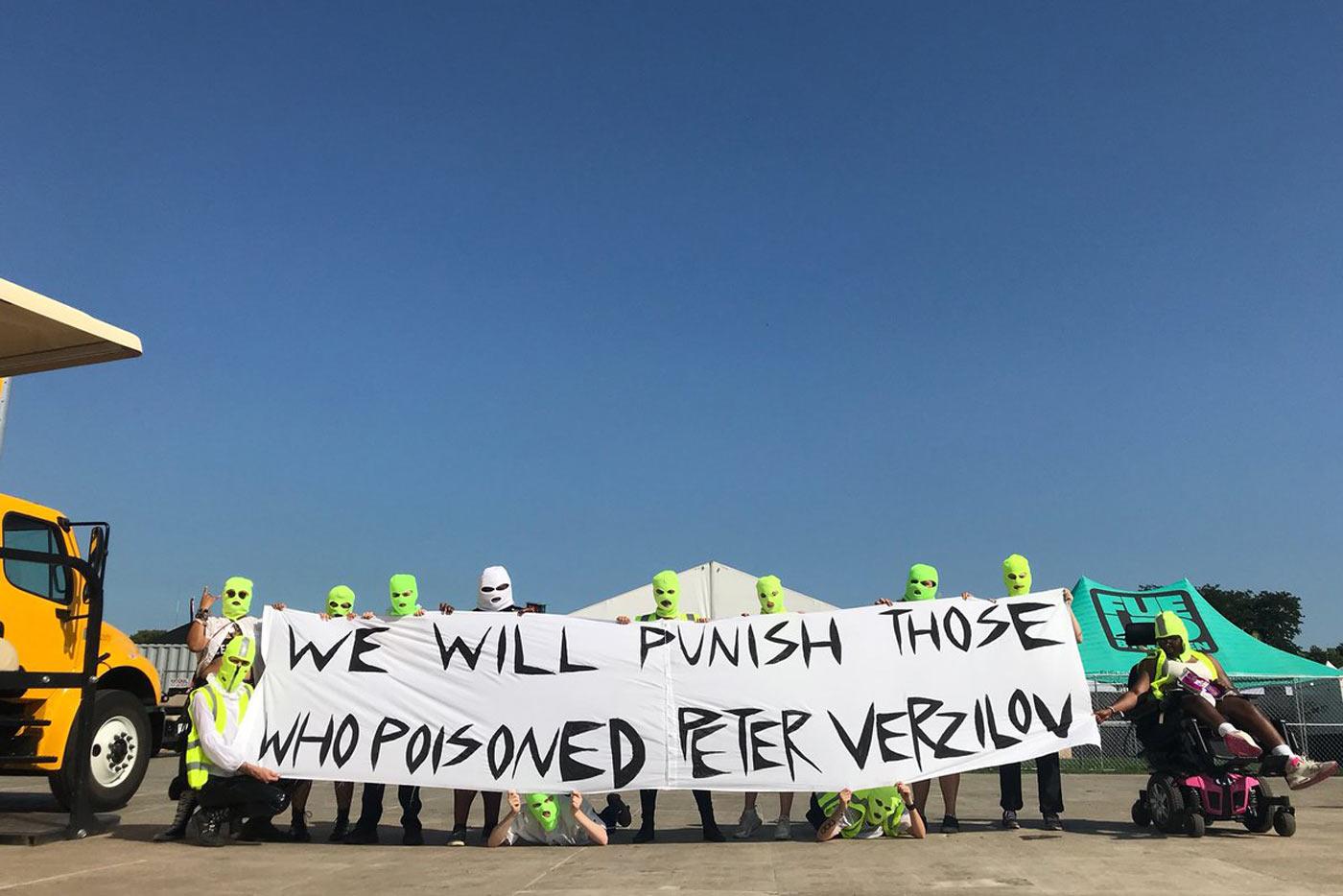 Pyotr Verzilov está consciente y ha sido trasladado a Alemania