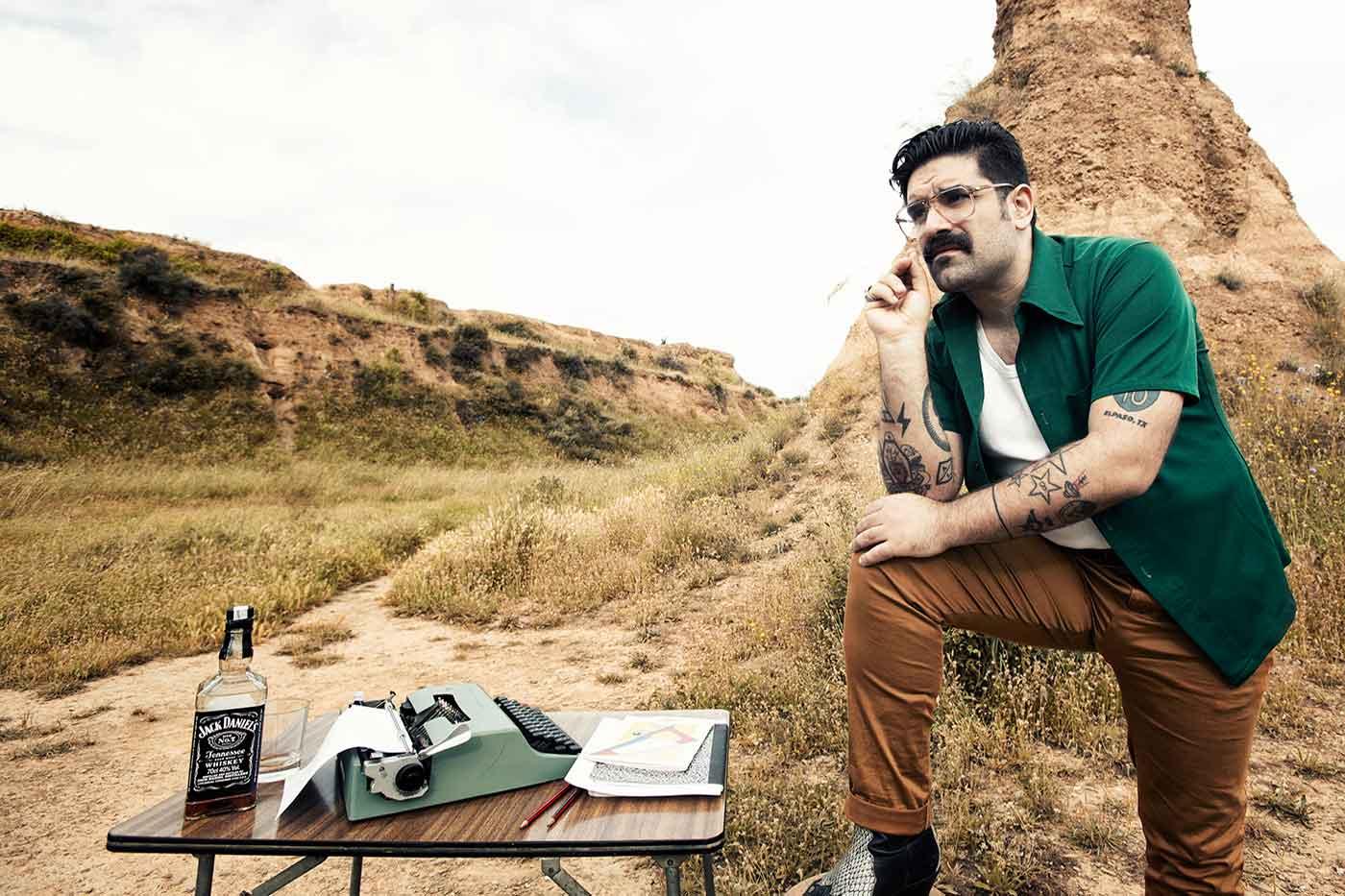 """Entrevista al escritor Benja Villegas por su libro """"ELPASO. A Punk Story"""""""