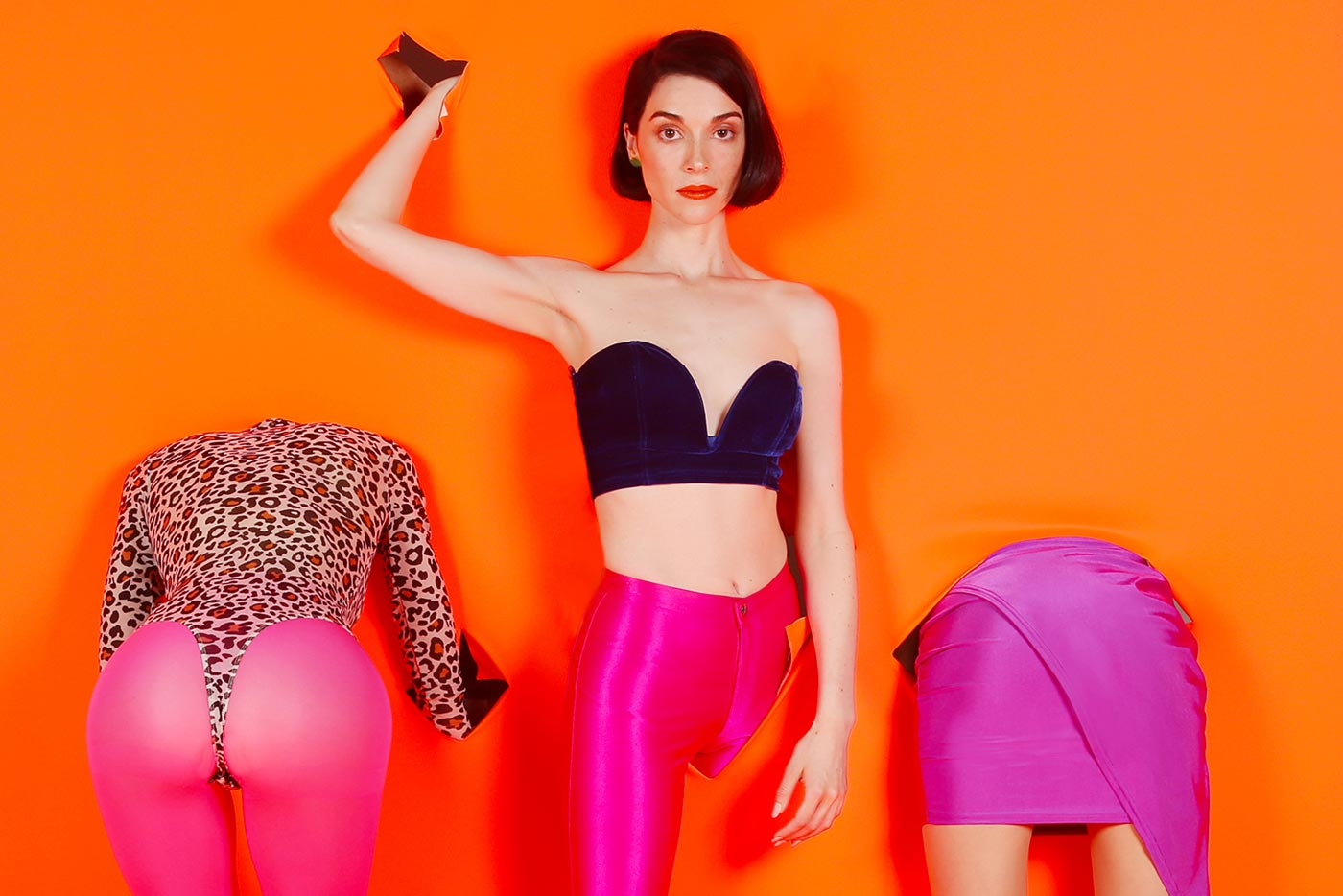 "St. Vincent y Nina Kraviz anuncian ""MASSEDUCTION Rewired"""