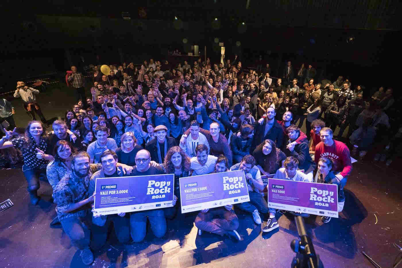 Banda ganadora del Popyrock 2018