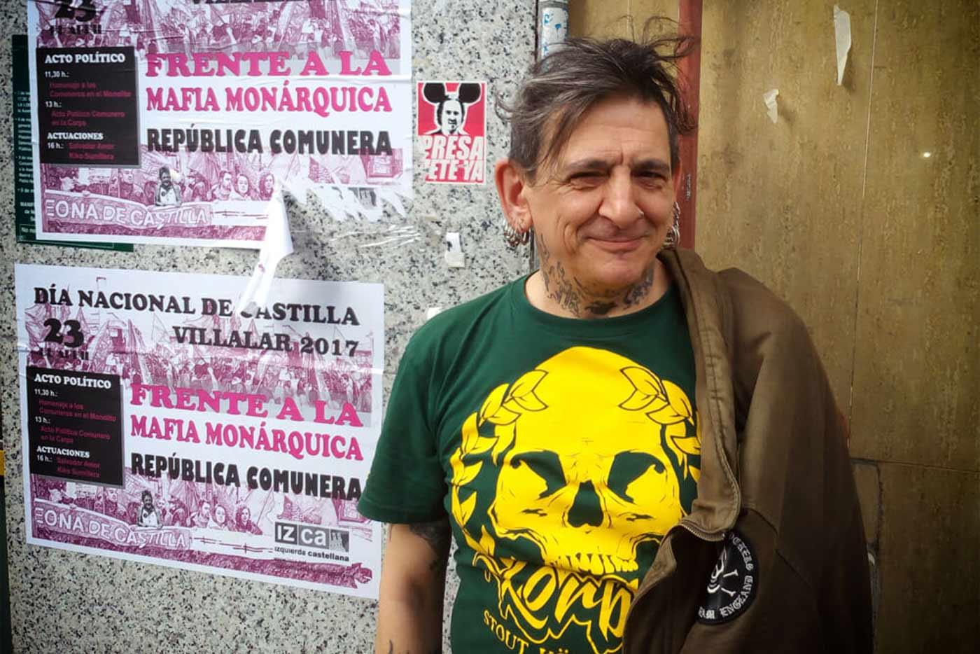 Evaristo anuncia un libro sobre su etapa en La Polla Records