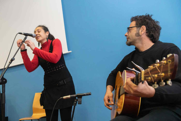 El dúo Esparatrapo durante la presentación de 'O Zaguer Chilo II'