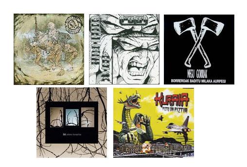 Elkar Vinyl Collection 2018: S.A., Negu Gorriak, Anestesia, DUT y Kuraia