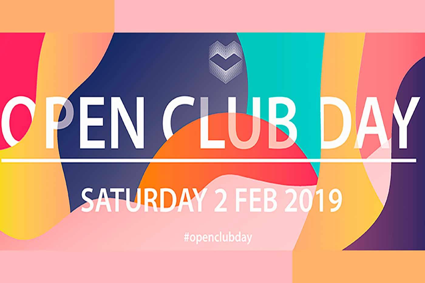 Open Club Day desvela su programación por salas