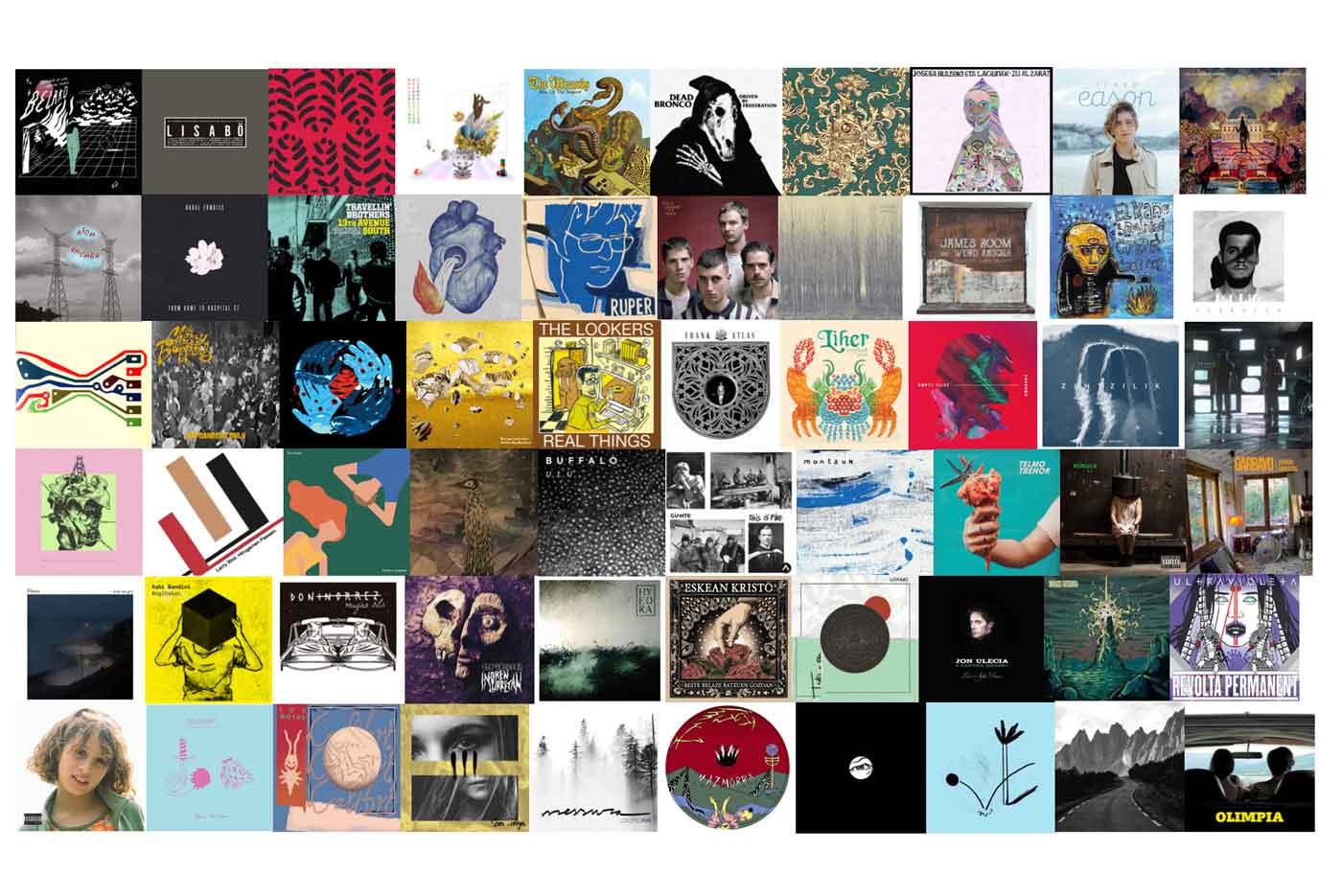 El 2018 en 201 canciones – Edición Zarata