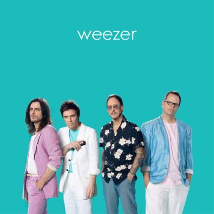 weezer teal album portada