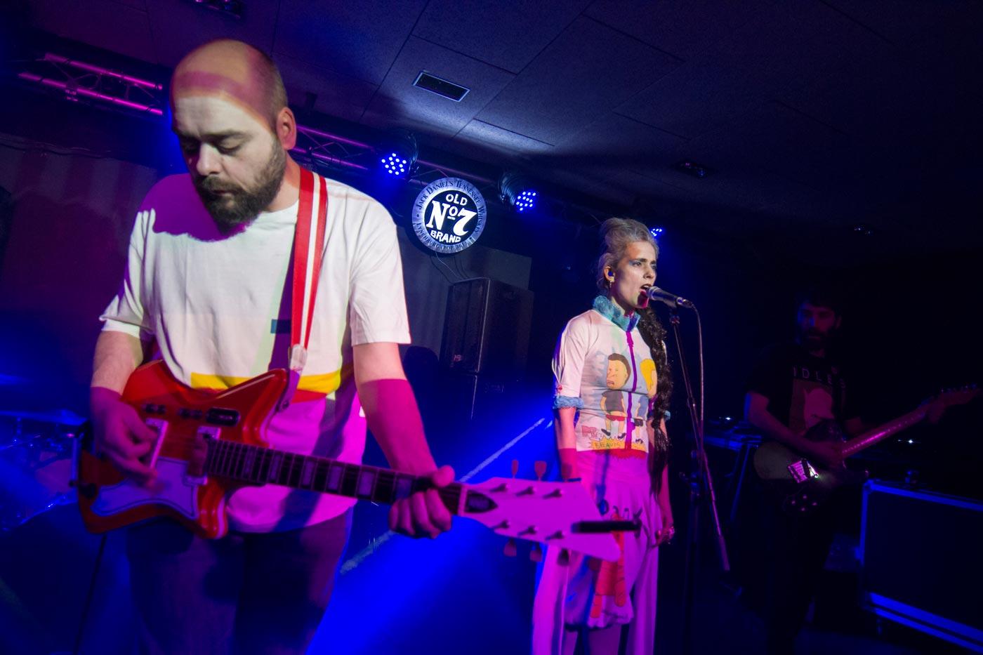 Madrid celebra la zona 1 con un concierto de Punsetes en Moby Dick