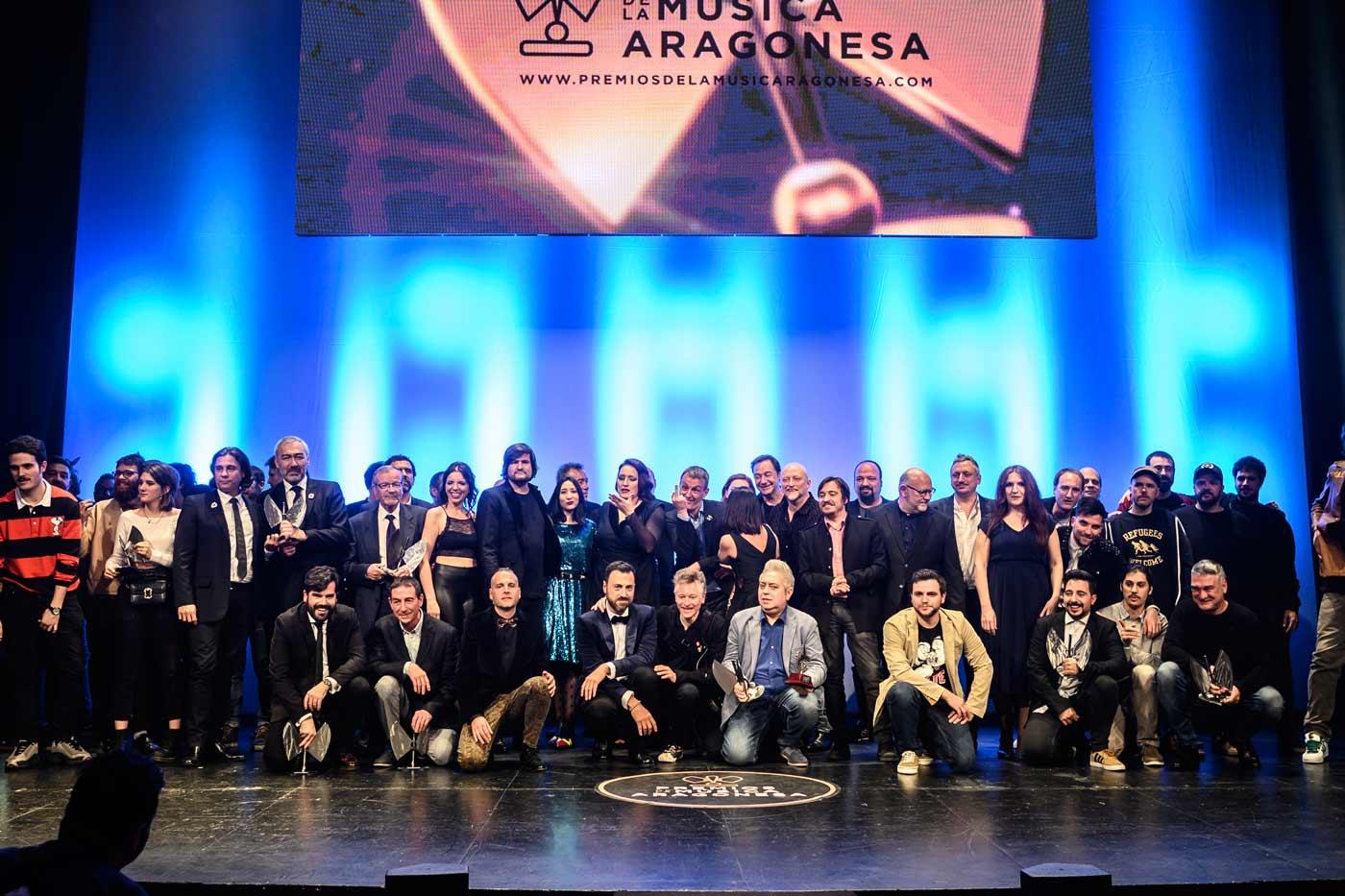 Y los Premios de la Música Aragonesa llegaron a la 20ª edición