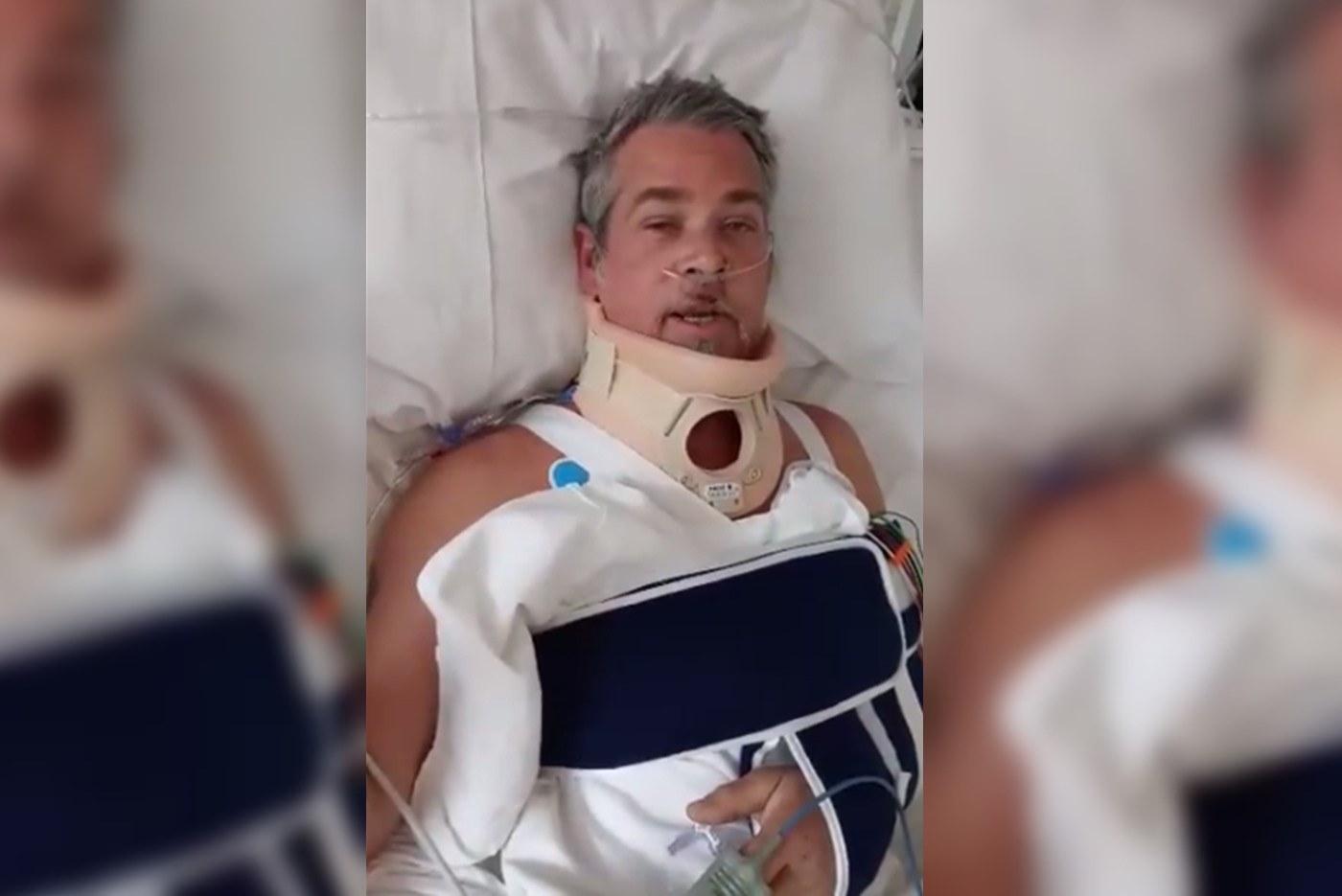 Alan Boguslavsky, de Héroes del Silencio, pide donaciones de sangre tras un accidente