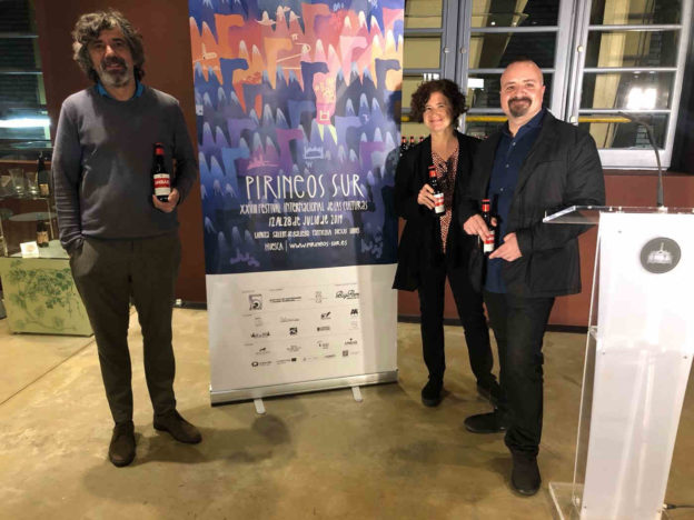 Durante la presentación del festival Pirineos Sur 2019