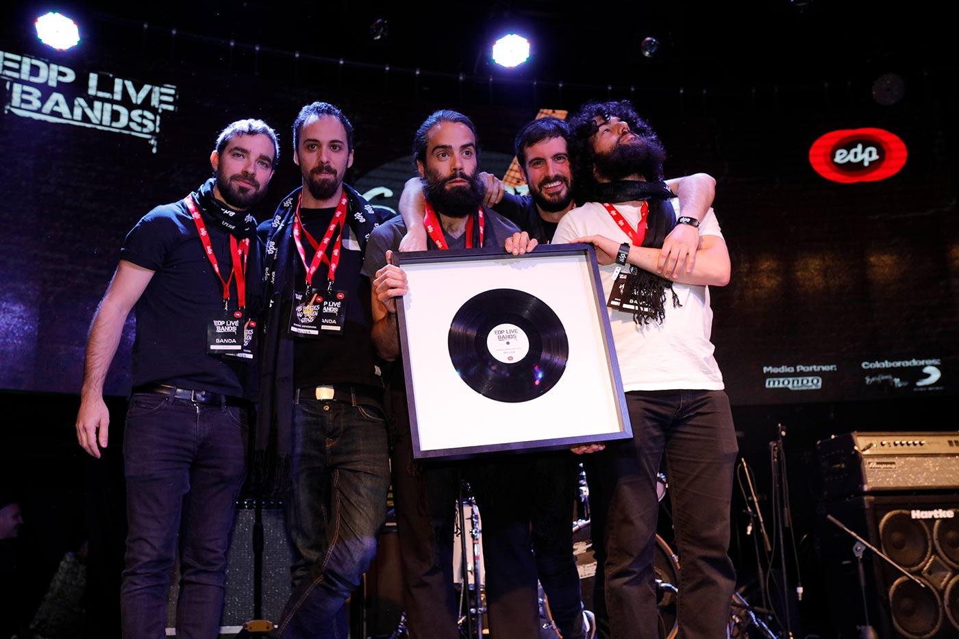 Beluga, ganadores de EDP Live Bands España 2019