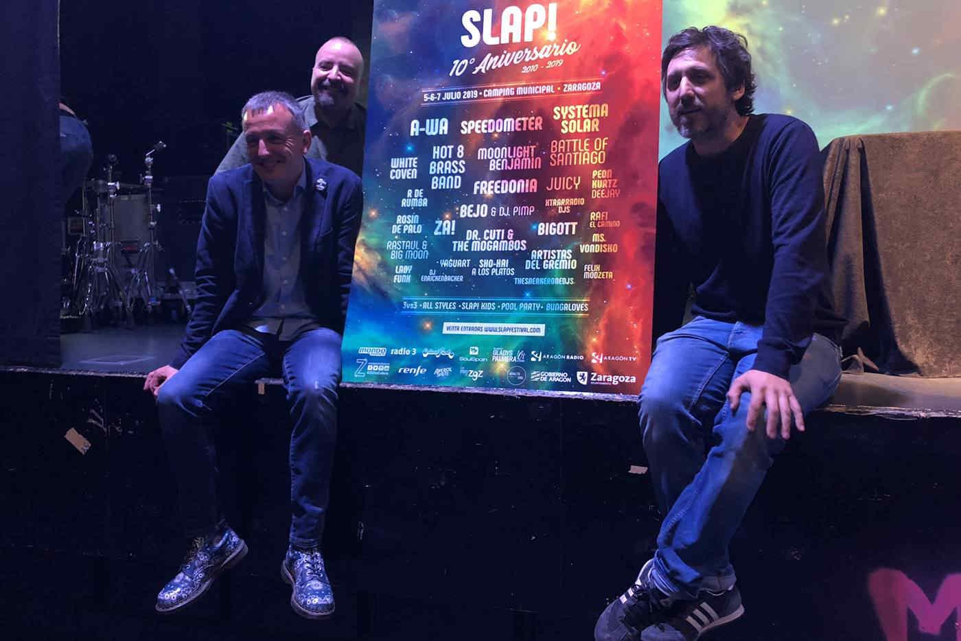 Presentada la programación del 10º Slap! Festival