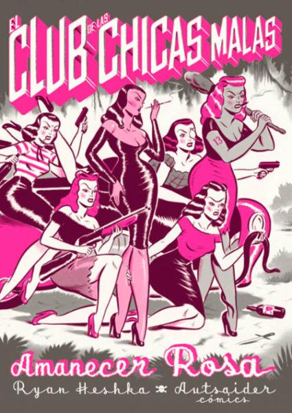 El Club de las Chicas Malas: Amanecer Rosa