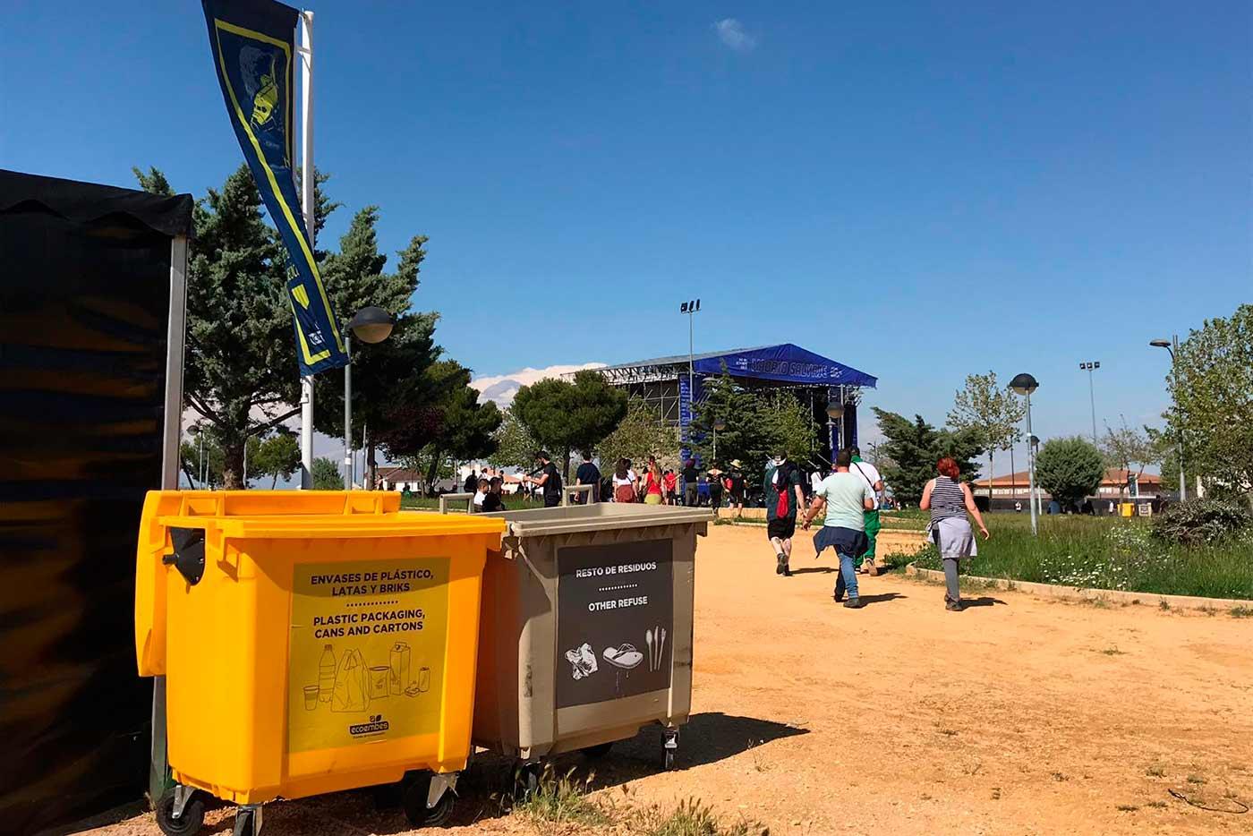 Diviértete y recicla en los festivales de este verano con Ecoembes