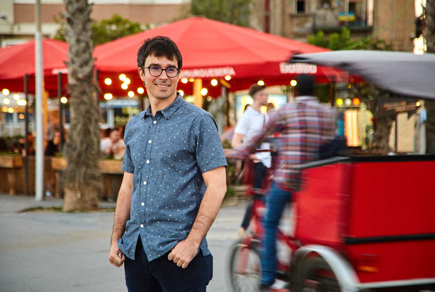 Eduard Palomares: becarios en la novela negra