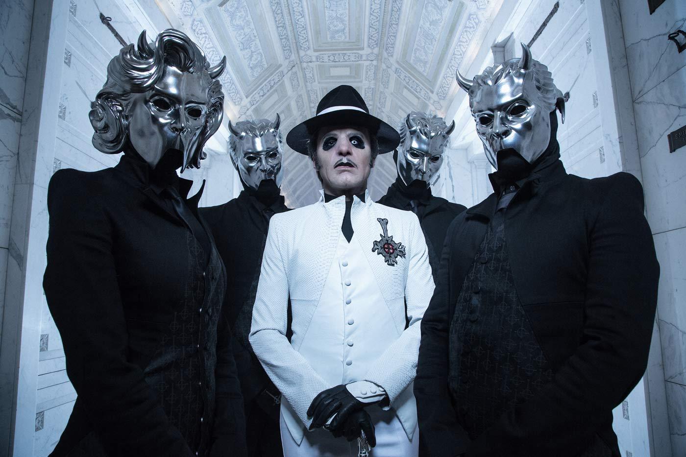 Nueva gira de Ghost junto a Tribulation y All Them Witches
