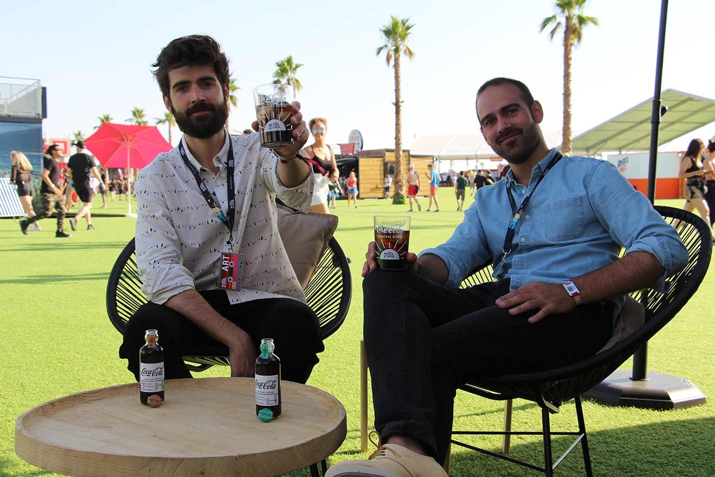 Entrevistamos a Gentleman Clef en el espacio Coca-Cola Signature Mixers de Mad Cool Festival