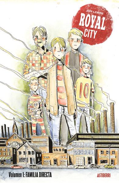 Royal City: Familia directa Jeff Lemire