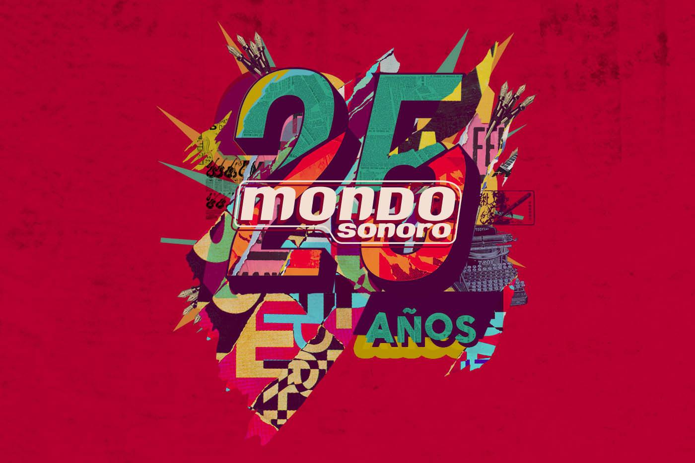 Bejo y Hinds en la Fiesta 25.º aniversario de Mondo Sonoro