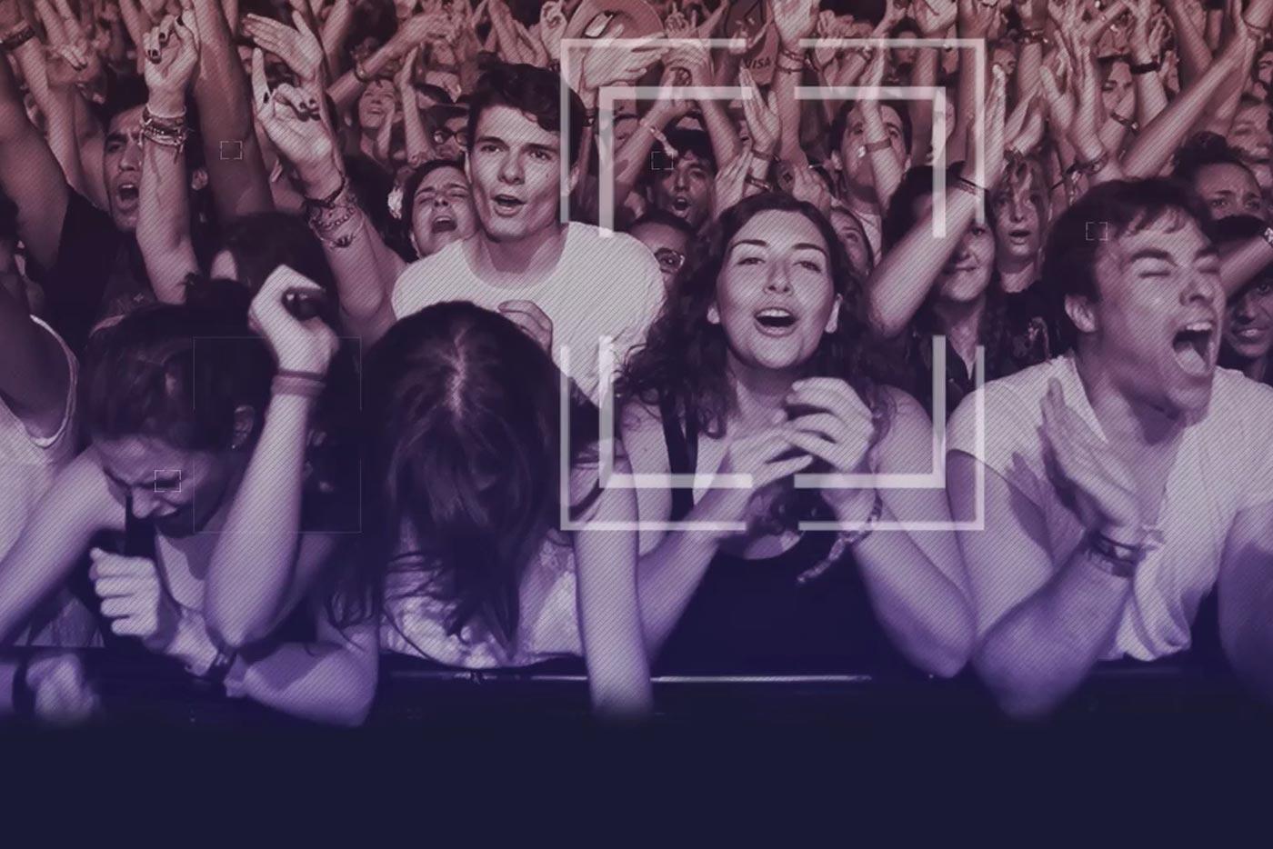 Nace una campaña para prohibir el reconocimiento facial en conciertos y festivales