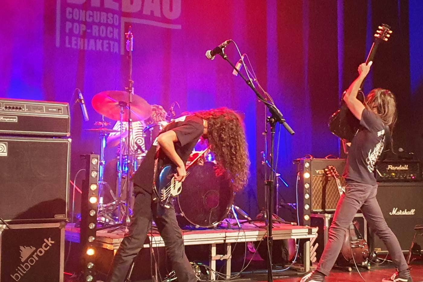 Palmares del Concurso Pop-Rock Villa de Bilbao 2019
