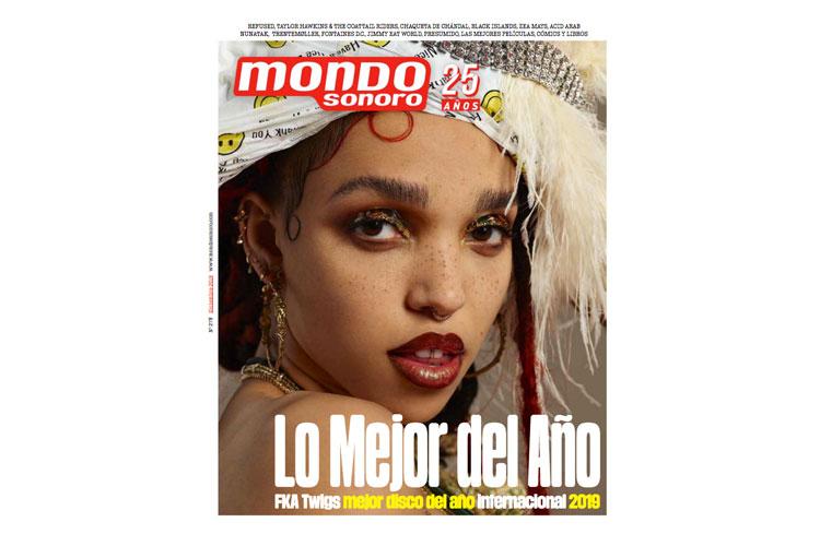 Ya está en la calle el número de diciembre de la revista Mondo Sonoro