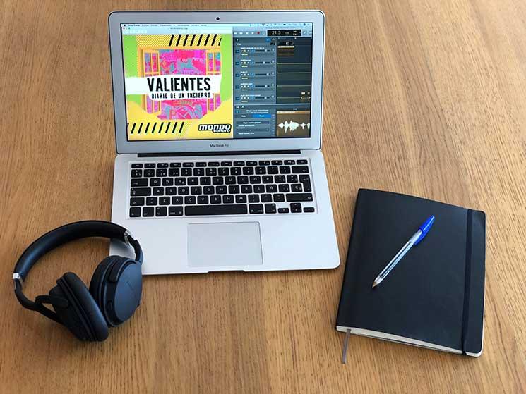 """Mondo Sonoro estrena """"Valientes. Diario de un encierro"""", su primer podcast"""