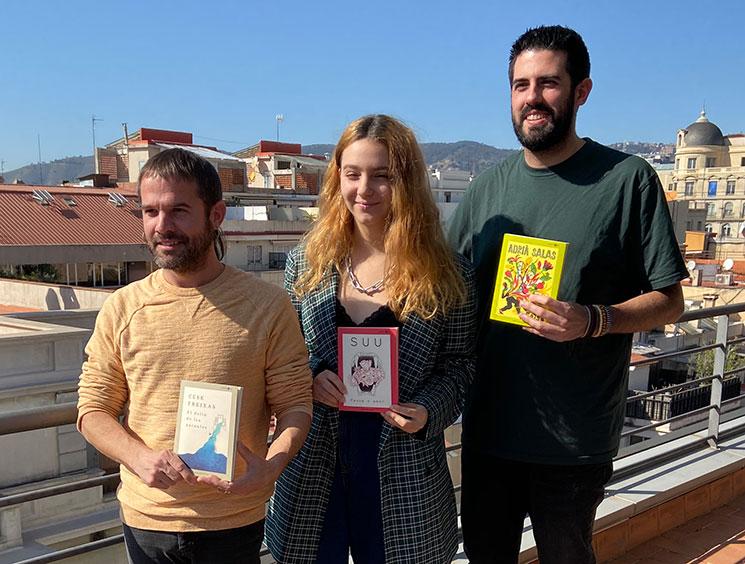 Suu, Adrià Salas (La Pegatina) y Cesk Freixas inauguran la colección poética Contraveu