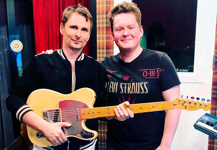 La Telecaster de Jeff Buckley tiene nuevo propietario… Matt Bellamy (Muse)