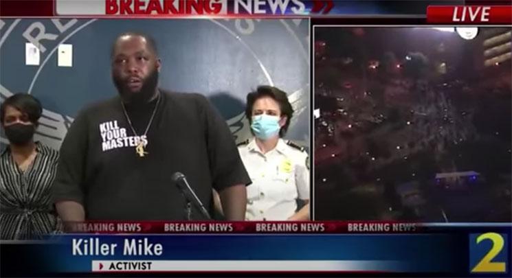 No te pierdas el emotivo discurso de Killer Mike por los disturbios raciales