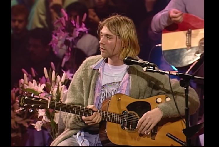 Un millón de dólares por la guitarra de Kurt Cobain en MTV Unplugged