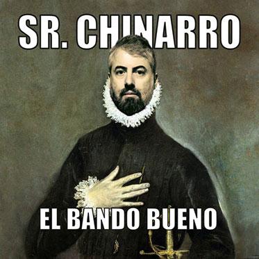 Sr Chinarro, crítica del disco El Bando Bueno (2020)