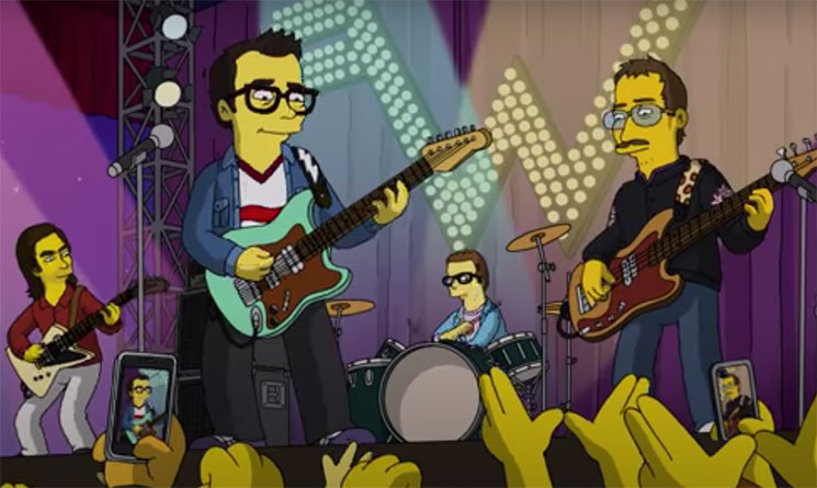 """Este domingo, Weezer estrenan su nuevo single en """"Los Simpson"""""""
