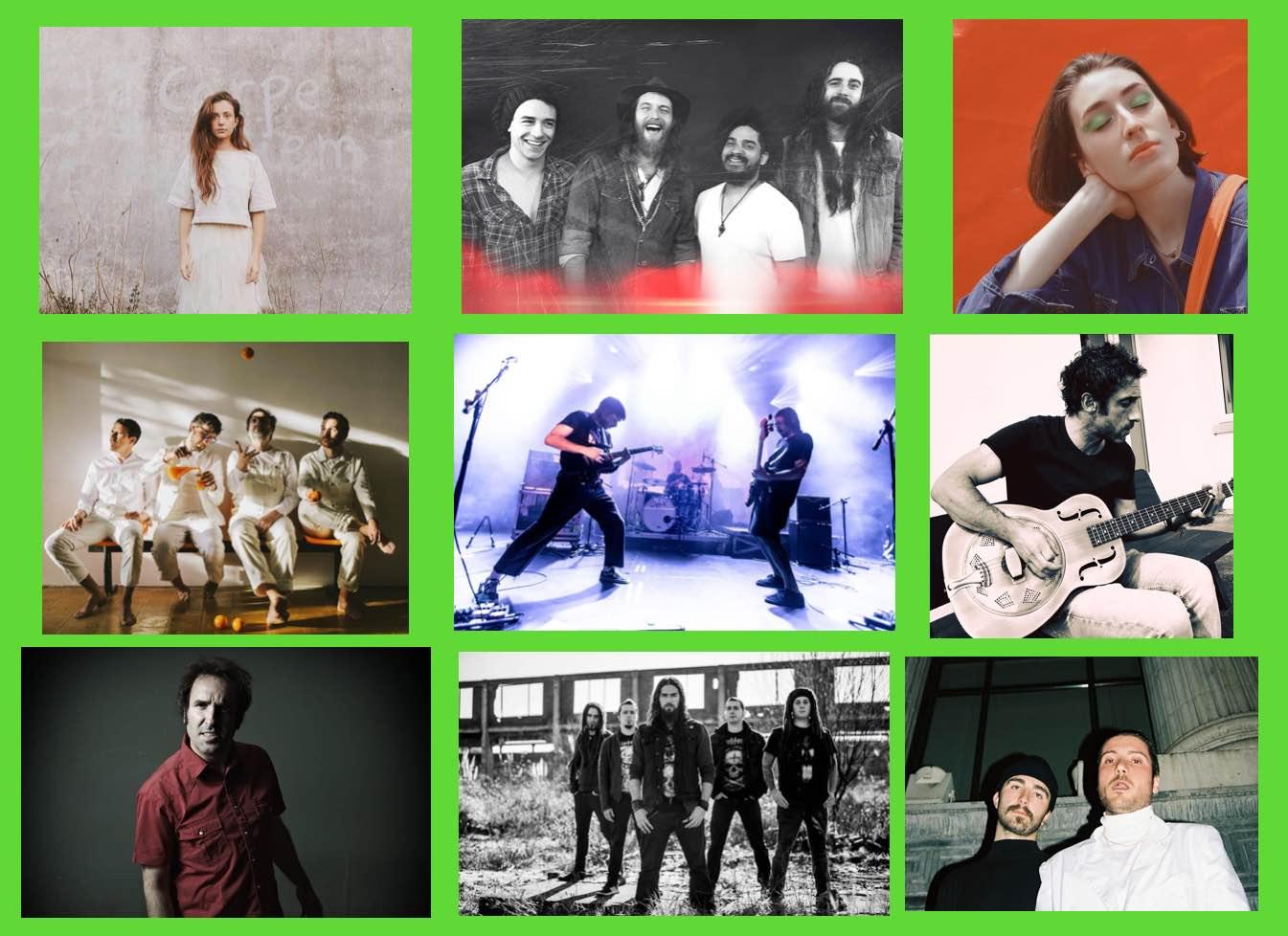 Zarata Express: Bilbao BBK Live, Lukiek, James Room, Jazzaldia, Grande Days…