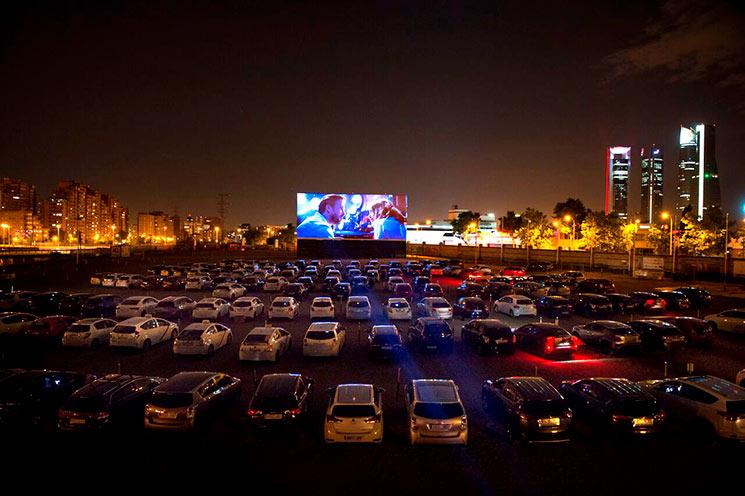 BMG Drive-In Fest, primer festival madrileño en un autocine
