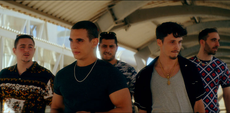 """Ayax, Dollar, Jarfaiter y otros raperos en """"Hasta el cielo"""" (Daniel Calparsoro)"""