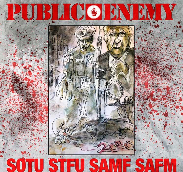 "Public Enemy recuperan la fuerza (anti-Trump) en ""State Of The Union"""