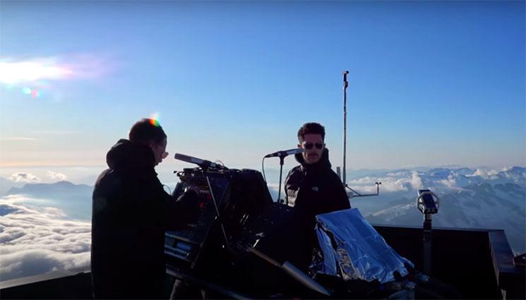 No te pierdas el concierto de The Blaze en el macizo de Mont-Blanc