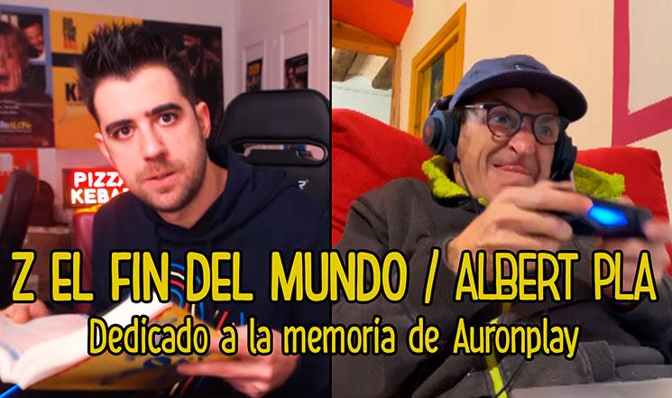 """Albert Pla lanza """"Z, el fin del mundo"""", un vídeo dedicado a Auronplay"""