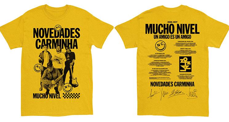 Novedades Carminha lanzan una camiseta limitada para fans a 5'26 euros