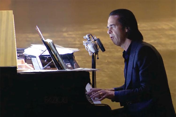 """Este 23 de julio concierto en streaming de Nick Cave titulado """"Idiot Prayer. Alone At Alexandra Palace"""""""