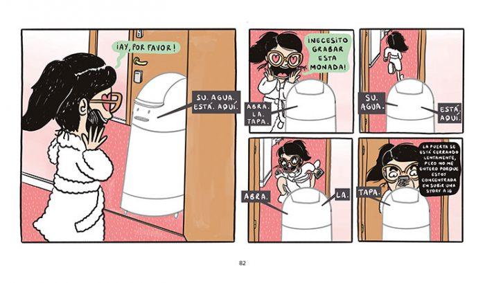 Elisa Riera Comic