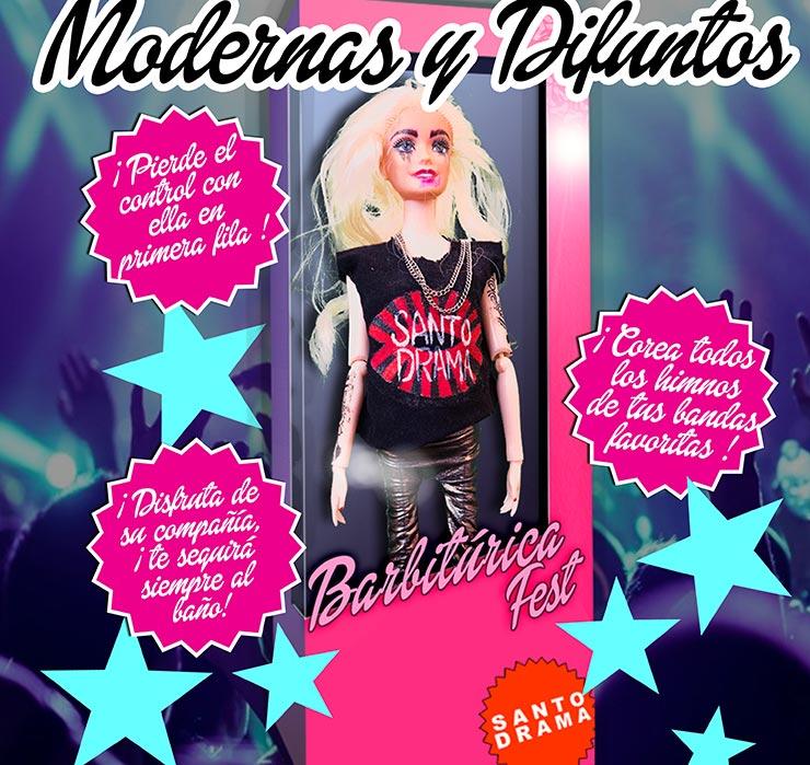 """""""Modernas y Difuntos"""", nuevo single de Santo Drama"""