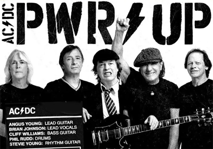 "AC/DC publican ""Shot In The Dark"", primer avance de ""Power Up"""