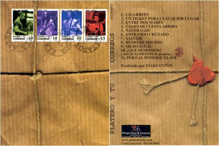 """Veinte años de """"Correos"""", el último disco de Platero y Tú"""