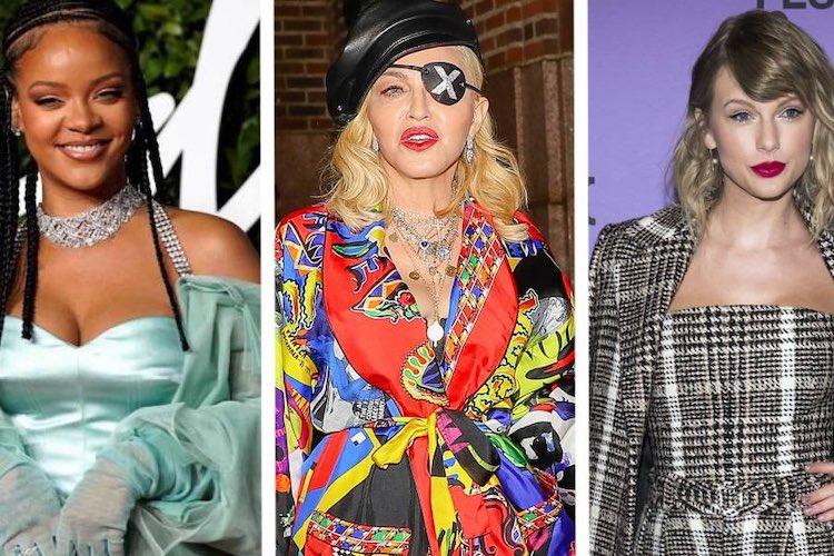 Madonna, Rihanna y Taylor Swift entre las mujeres más ricas según Forbes