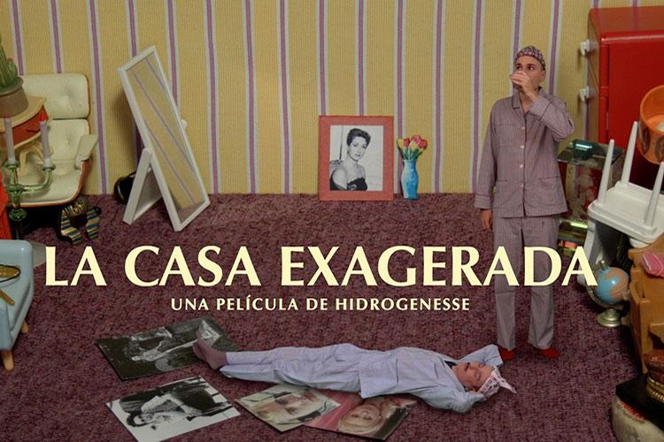 "Hidrogenesse presentan el cortometraje ""La casa exagerada"""